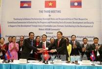 Triển khai kết quả Hội nghị lần thứ Ba giữa ba Ủy ban của Quốc hội Campuchia, Quốc hội Lào và Quốc hội Việt Nam.