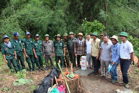 Hoàn thành công tác khảo sát xác định vị trí đặt các mốc số 41,43 tuyến biên giới Việt Nam – Campuchia