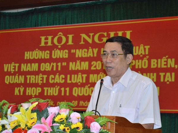 Hội nghị hưởng ứng Ngày Pháp luật Việt Nam năm 2016