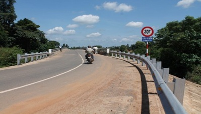 Phê duyệt điều chỉnh tổng mức đầu tư dự án Cầu Vụ Bổn, xã Vụ Bổn, huyện Krông Pắc