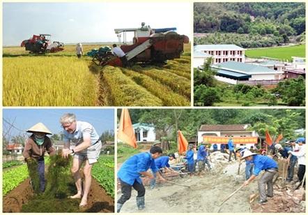 Hướng dẫn thực hiện Chương trình mục tiêu quốc gia xây dựng nông thôn mới giai đoạn 2016-2020.