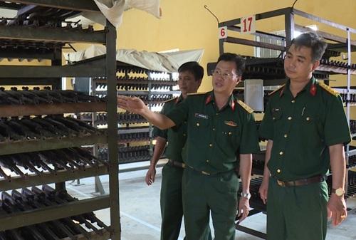 Gia hạn thời gian hoàn thành và điều chỉnh chế độ tiền lương, vật liệu tại công trình Cụm kho vũ khí, đạn thuộc Bộ Chỉ huy Quân sự tỉnh