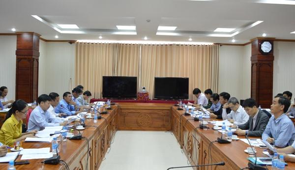 UBND tỉnh làm việc với đoàn kiểm tra của Ban Chỉ đạo Trung ương về phòng, chống thiên tai