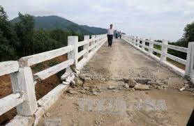 Bố trí vốn khắc phục sự cố sập cầu Cư Păm tại Km21 + 050, Tỉnh lộ 9