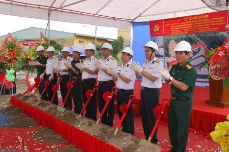 Kinh phí xây dựng một số công trình của ngành Giáo dục và Bộ chỉ huy Quân sự tỉnh