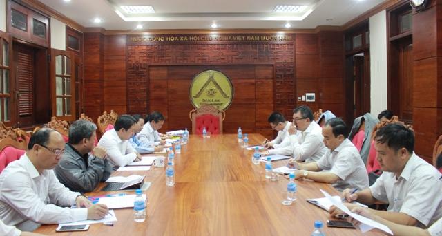 UBND tỉnh làm việc với Tập đoàn Central Group Việt Nam