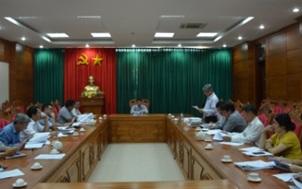 Thông báo kết luận của đồng chí Nguyễn Tuấn Hà – Phó Chủ tịch UBND tỉnh tại cuộc họp về phương án bàn giao Nhà nghỉ Bảo Đại tại huyện Lắk.