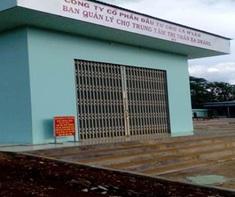 Điều chỉnh ranh giới khu đất cho Công ty cổ phần đầu tư quản lý chợ Ea H'leo thuê tại huyện Ea H'leo.