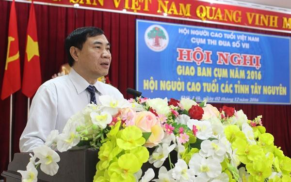 Hội nghị giao ban Cụm thi đua số VII Hội Người cao tuổi các tỉnh Tây Nguyên