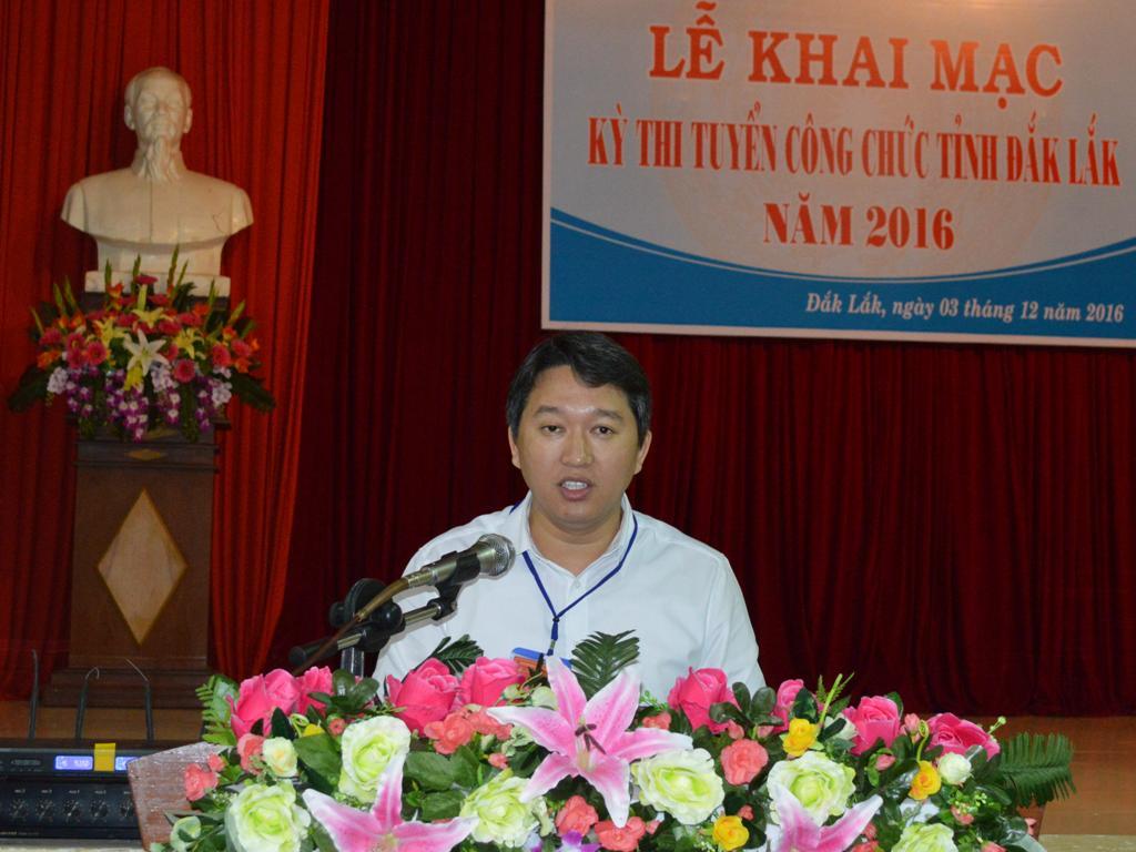 Khai mạc kỳ thi tuyển công chức tỉnh Đắk Lắk năm 2016