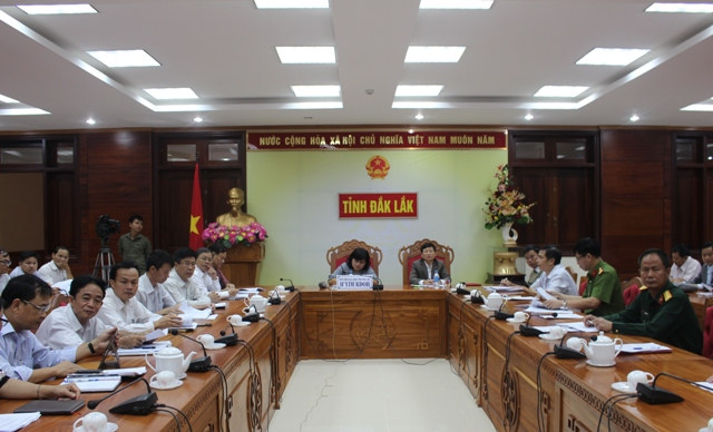 Hội nghị trực tuyến rút kinh nghiệm công tác chỉ đạo ứng phó và khắc phục hậu quả mưa lũ các tỉnh miền Trung và Tây Nguyên.