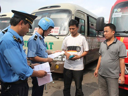 Tăng cường quản lý các hoạt động kinh doanh vận tải khách bằng xe ô tô trên địa bàn tỉnh.