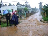 Hỗ trợ kinh phí khắc phục hậu quả do thiên tai mưa lũ gây ra trên địa bàn huyện Cư Kuin