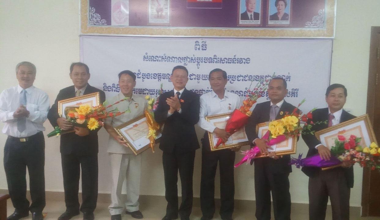 Tòa án nhân dân tỉnh Đắk Lắk đến thăm và làm việc với Tòa án tỉnh Mondulkiri – Vương quốc Campuchia