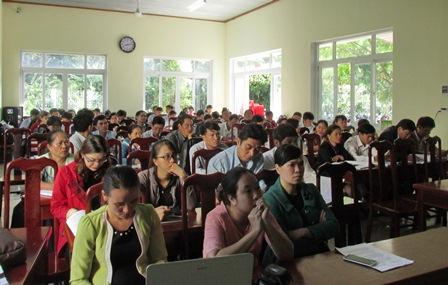 Sở Tư pháp Đắk Lắk tổ chức tập huấn nghiệp vụ hộ tịch, nuôi con nuôi, chứng thực và xử lý vi phạm hành chính