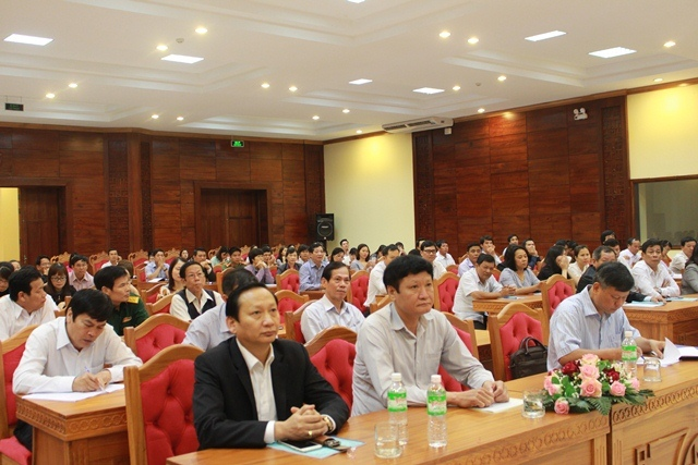 Hội nghị tập huấn công tác thi đua , khen thưởng  các tỉnh, thành phố khu vực miền Trung – Tây Nguyên năm 2016.