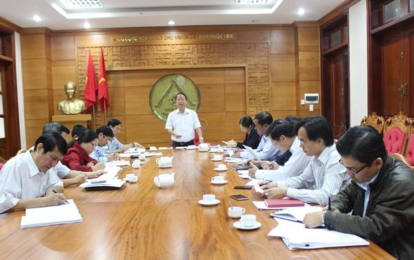 Ban Pháp chế thẩm tra các văn bản trình tại Kỳ họp thứ 3 HĐND tỉnh