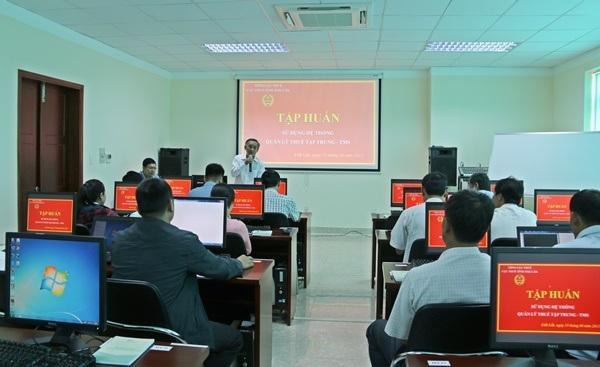 Hỗ trợ kinh phí phần mềm ứng dụng tin học trong công tác quản lý chuyên môn