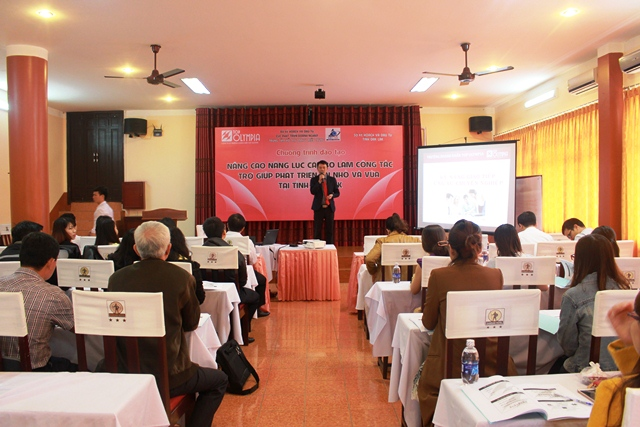 "Training program on ""Improving capacity of officials in supporting small and medium –sized enterprises"""