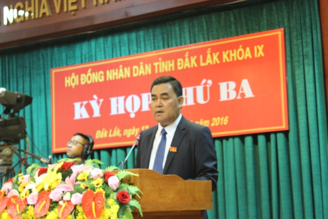 Khai mạc Kỳ họp thứ III, HĐND tỉnh khóa IX