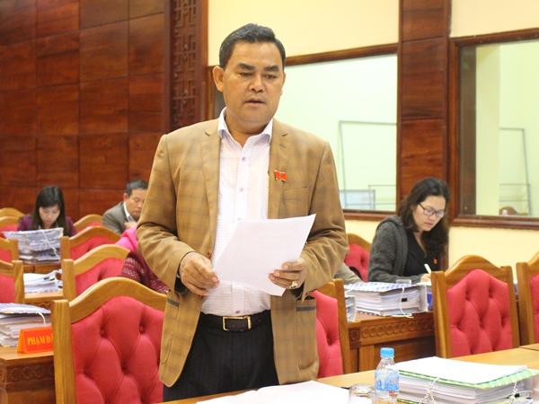 Phiên thảo luận tổ Kỳ họp thứ 3, HĐND tỉnh khóa IX