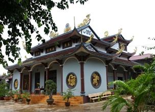 Phê duyệt quy hoạch tổng mặt bằng tỷ lệ 1/500 Dự án Chùa Thiện Đức, thị trấn Buôn Trấp, huyện Krông Ana