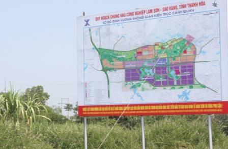Diện tích quy hoạch Khu công nghiệp Phú Xuân