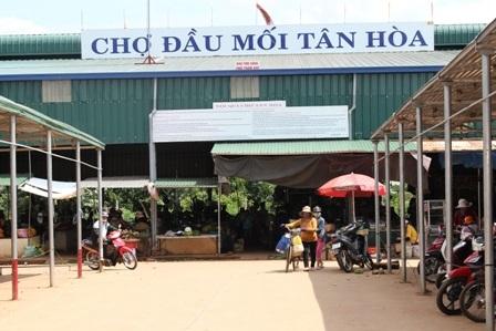 Kiểm tra, chấn chỉnh lại hoạt động kinh doanh tại Chợ đầu mối  Tân Hòa, thành phố Buôn Ma Thuột.