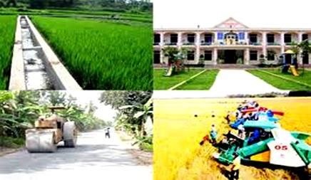 Điều chỉnh kế hoạch vốn ngân sách tỉnh năm 2016 thực hiện mục tiêu Quốc gia xây dựng nông thôn mới