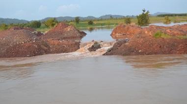 Hỗ trợ kinh phí khắc phục sự cố vỡ kênh chính đập dâng Đắk Liêng, xã Đắk Phơi, huyện Lắk