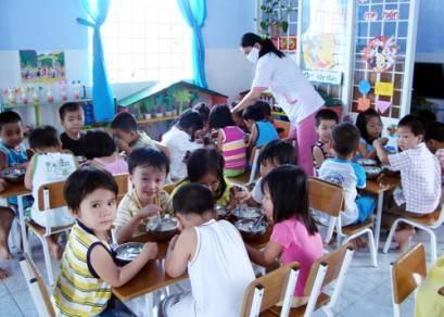 Bổ sung kinh phí hỗ trợ tiền ăn trưa cho trẻ em mầm non từ 3 đến 5 tuổi năm học 2016-2017