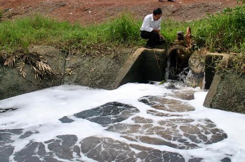 Tập trung kiểm tra, điều tra, xử lý kịp thời các hành vi xả thải gây ô nhiễm môi trường