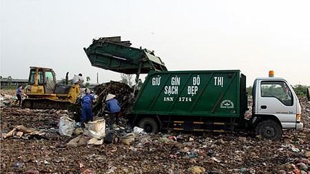 Bố trí vốn xây dựng công trình Xây dựng, lắp đặt khu xử lý nước rỉ rác thuộc dự án Mở rộng, nâng cấp bãi chôn chất thải rắn thành phố Buôn Ma Thuột.
