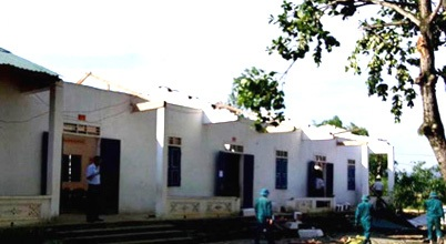 Hỗ trợ kinh phí để xây dựng các phòng học hư hỏng do lốc tố gây ra trên địa bàn huyện Ea Súp
