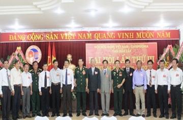 Phê duyệt Điều lệ (sửa đổi, bổ sung) Hội Hữu nghị Việt Nam – Campuchia tỉnh Đắk Lắk lần thứ III, nhiệm kỳ 2016-2021