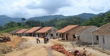 Phê duyệt quyết toán vốn đầu tư hoàn thành dự án đền bù, di dân và tái định cư