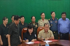 Báo cáo kết quả hợp tác với Campuchia năm 2016 và Kế hoạch hợp tác năm 2017