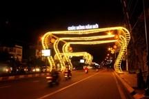 Thống nhất phương án lắp đặt hệ thống đèn trang trí đường Nguyễn Tất Thành, thành phố Buôn Ma Thuột