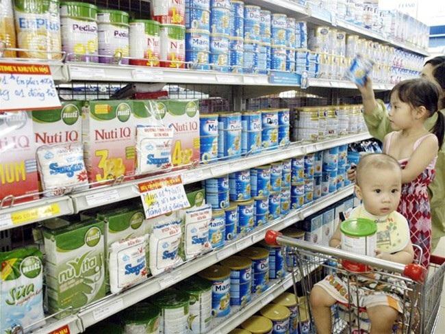 Quản lý giá sữa và thực phẩm chức năng dành cho trẻ em dưới 06 tuổi.
