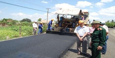 Bổ sung tổng mức đầu tư và nguồn vốn đầu tư dự án đường giao thông đến trung tâm xã Ea Sô, huyện Ea Kar