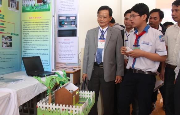 173 sản phẩm, dự án tham dự Cuộc thi khoa học - kỹ thuật cấp tỉnh dành cho học sinh trung học năm học 2016-2017