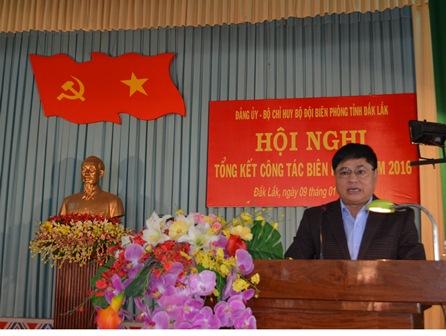 Bộ đội Biên phòng tỉnh Đắk Lắk: Tổng kết công tác Biên phòng năm 2016