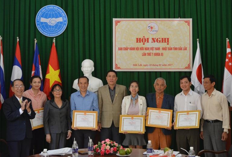 Hội nghị Ban Chấp hành Hội Hữu nghị Việt Nam – Nhật Bản tỉnh lần thứ 7, khóa II.