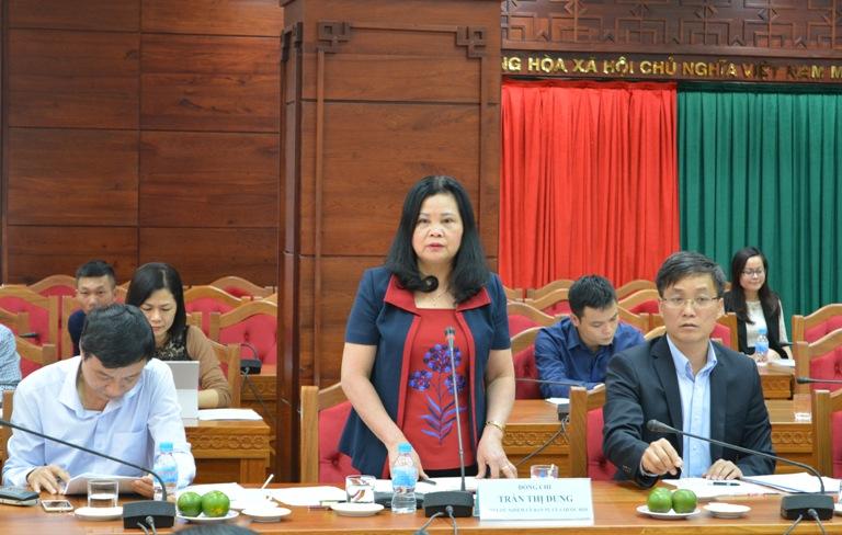 UBND tỉnh tiếp và làm việc với đoàn công tác Ủy ban Pháp luật của Quốc hội.