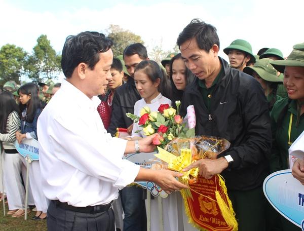 Khai mạc Hội thao Giáo dục quốc phòng – an ninh học sinh THPT tỉnh Đắk Lắk lần thứ IV, năm học 2016 – 2017