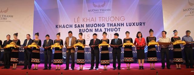 Khai trương Khách sạn Mường Thanh Luxury Buôn Ma Thuột