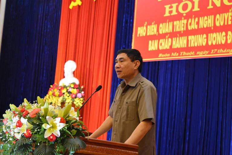 Hội nghị phổ biến, quán triệt các Nghị quyết Hội nghị lần thứ Tư Ban Chấp hành Trung ương Đảng (khóa XII).