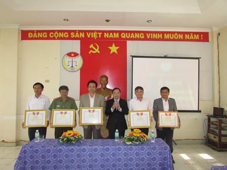 Hội Luật gia tỉnh Đắk Lắk tổ chức Hội nghị tổng kết công tác, phong trào thi đua năm 2016 và triển khai công tác năm 2017