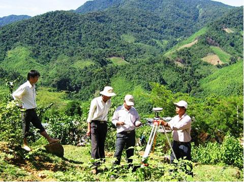 Kinh phí đo đạc, lập bản đồ địa chính, cắm mốc ranh giới sử dụng đất và cấp giấy chứng nhận quyền sử dụng đất của các công ty nông, lâm nghiệp năm 2016