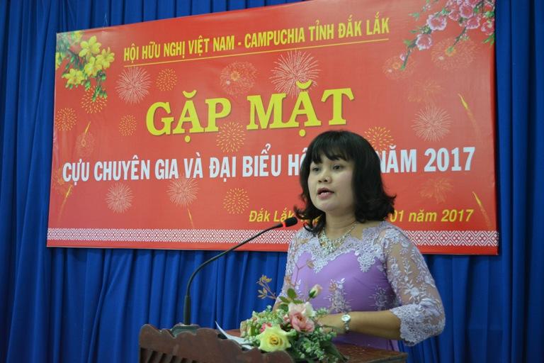 Hội Hữu nghị Việt Nam – Campuchia tỉnh gặp mặt cựu chuyên gia và đại biểu hội viên năm 2017.